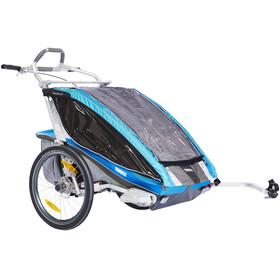 Thule Chariot CX2 + Bike Set Bike Trailer blue